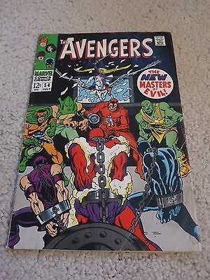 Avengers  54  VG  4.0  1st Ultron Cameo  Black Panther  Hawkeye   Infinity Wars