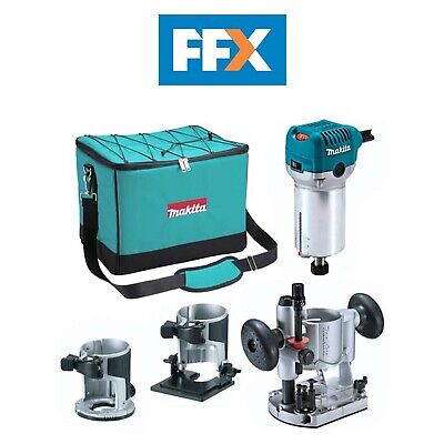 Makita RT0700CX2 240v Router / Trimmer with Extra Bases