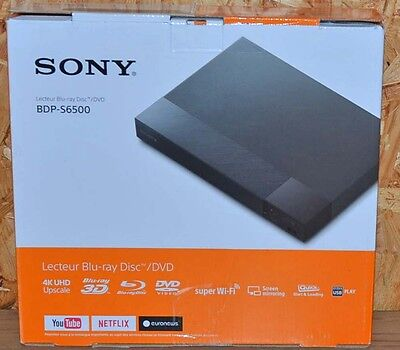 Sony BDP-S6500 Blu-ray Player~DVD~schwarz~ B-Ware