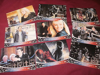 9 x Spiderman 3, Trading Cards