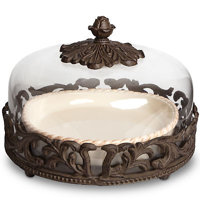 The GG Collection Pie Plate and Dome