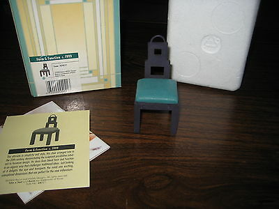 2000 Take A Seat by Raine - Dollhouse Display - Form & Function circa 1999