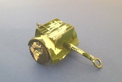 Dinky Toys Post War Army 25 Pounder Gun Trailer - Dinky Toys Military Models