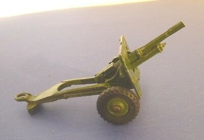 Dinky Toys Post War Army 25 Pounder Field Gun  - Dinky Toys Military Models
