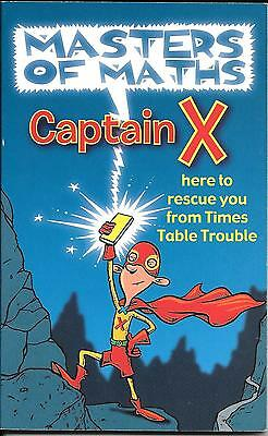 Masters of Maths, Captain X PB Book.