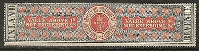 GB 1892 IR 3d Medicine Duty Stamp