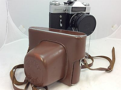 Zenit - E 35mm Camera with Zenith Carry Case & Helios - 44 2.58 Lens