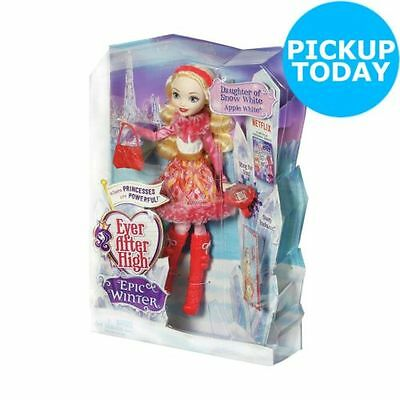 BRAND NEW Ever After High Epic Winter Apple White