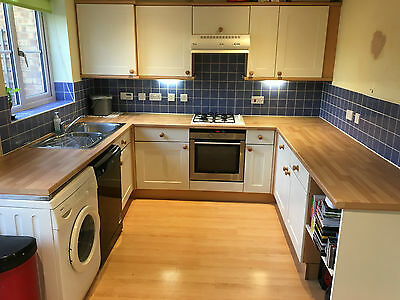 Complete Used Kitchen - Shaker Style - Fantastic Condition