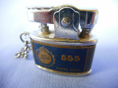 "Miniature ""state Express 555"" Lighter - 1 Inch Long , 1 Inch High - Very Cute"
