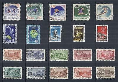 y568 Russia / A Small Collection Early Issues Used