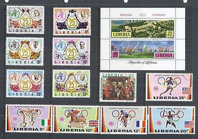 y307 Liberia  / A Small Collection Early & Modern  Used