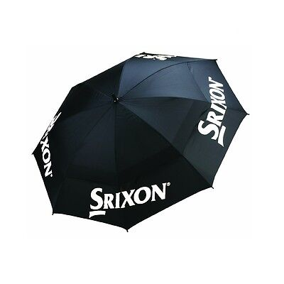 "Srixon Golf 2016 Tour Double Canopy 62"" Umbrella (Black / White)"