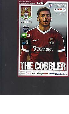 PROGRAMME - NORTHAMPTON TOWN v CHESTERFIELD - 11 FEBRUARY 2017