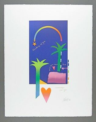 MARA, Message for you - Farb-Serigraphie und Collage