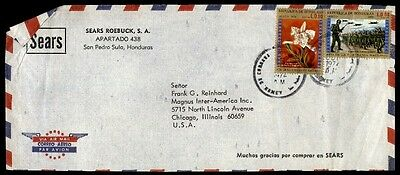 1970s Sears Roebuck commercial cover Honduras to Chicago Illinois US