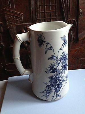 ANTIQUE FLORAL SHABBY CHIC Royal Worcester MAPLE / JUG AROUND 100 YEARS OLD
