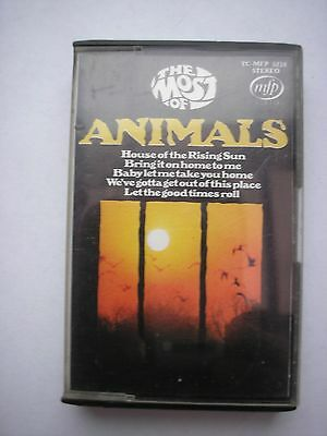 The Animals Cassette  Used
