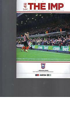 PROGRAMME - LINCOLN CITY v IPSWICH TOWN - FA CUP - 17 JANUARY 2017