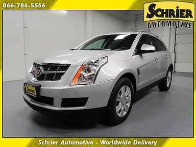2011 Cadillac SRX Luxury Sport Utility 4-Door 11 Caddy SRX Silver AWD Leather Panoramic Roof Remote Start