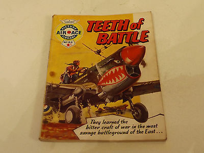 AIR ACE PICTURE LIBRARY,NO 66,1961 ISSUE,FAR FOR AGE,56 yrs old,V RARE COMIC.