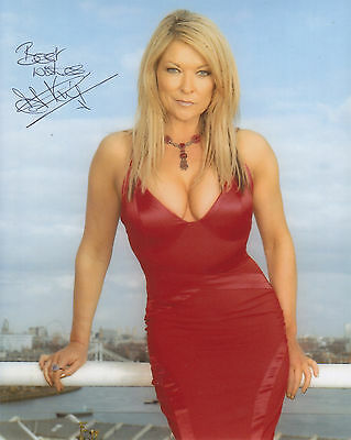 Claire King Signed  10 Inch By 8 Inch Photograph