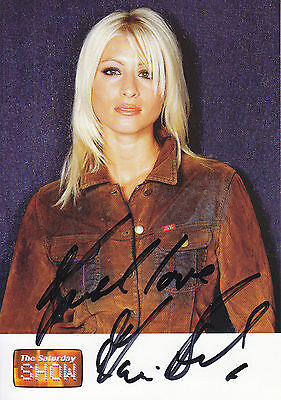 Dani Behr Signed Picture