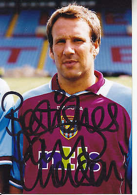 Paul Merson Signed Photograph