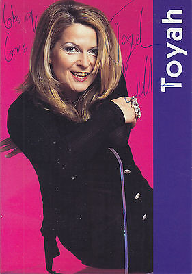 Toyah Signed Picture