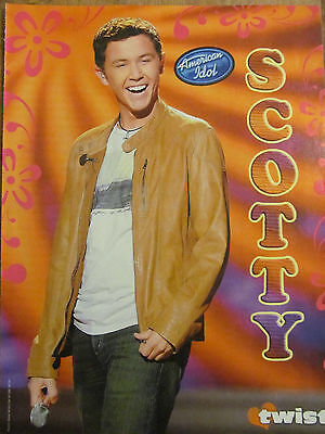 Scotty McCreery, All Star Weekend, Double Full Page Pinup
