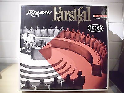WAGNER:PARSIFAL(LIVE BAYREUTH) 6LP BOX GERMAN FULL GOLD DECCA LOGO LXT 2651 ffrr