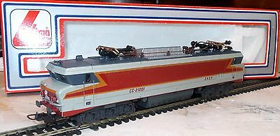 Lima Ho 208047 SNCF French Electric Loco CC21001 Red/Silver Livery