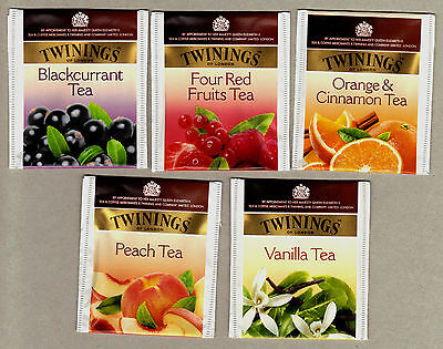 Twinings Italy Tea Bag Envelopes Tags Collection 421