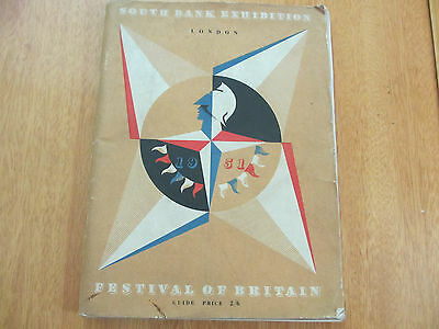 Vintage Programme Of The Festival Of Britain From 1951.