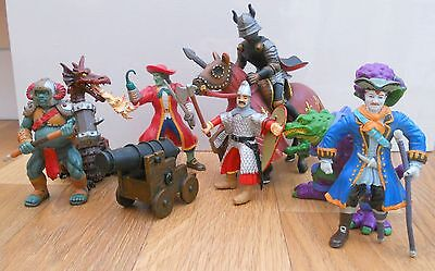 Job Lot Elc & Papo Fantasy Action Figures & Schleich Horse & Another Knight
