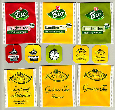 Kaufland German Tea Bag Envelopes For Collection 314