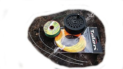 Fly Reel, Fly Line, Backing And Loops,