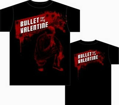 Bullet For My Valentine- NEW Red Guns T Shirt-XLarge SALE FREE SHIPPING TO U.S.!