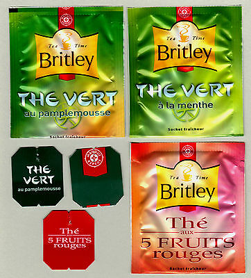 Britley France Teabag Envelopes And Tags Collection 313