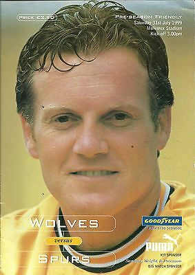 Wolves V Tottenham Hotspur 31/07/1999 Pre-Season Friendly  (5)
