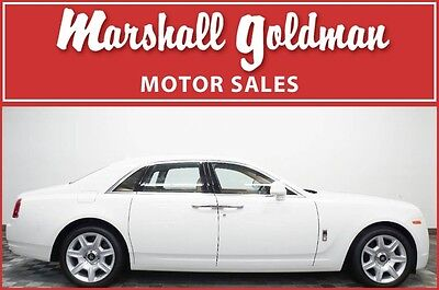 2012 Rolls-Royce Ghost Base Sedan 4-Door 2012 Rolls Royce Ghost English White with Moccasin pano roof, only 3800 miles