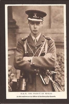 H.R.H.The Prince of Wales(Edward VIII). Grenadier Guards.