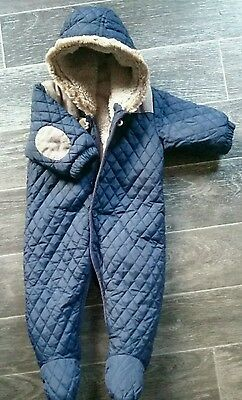 boys next  all in one snowsuit coat age 3-6 months ❄