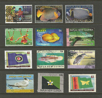 Papua New Guinea recent used selection