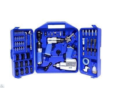 Campbell Hausfeld TK106901 62-Piece Air Tool Kit and Accessories  (S10012042)