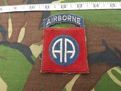 WW2?,U.S. 82nd Airborne Div, Sleeve Patch