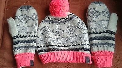 Only Bobble Hat and Gloves