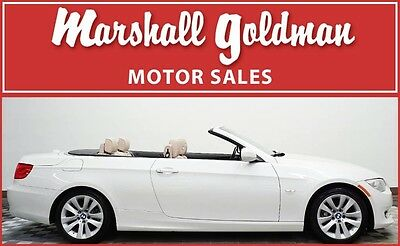 2013 BMW 3-Series Base Convertible 2-Door 2013 BMW 328i Convertible in Alpine White 28,400 miles One owner vehicle