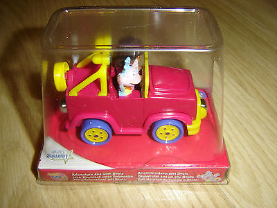 Dora The Explorer And Boots 4X4 Jeep Adventure Magnet Toy Car New Learning Curve