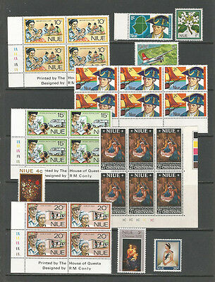 Niue mint selection [two scans]